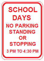 Attention: New parking and pick-up protocol at HMS