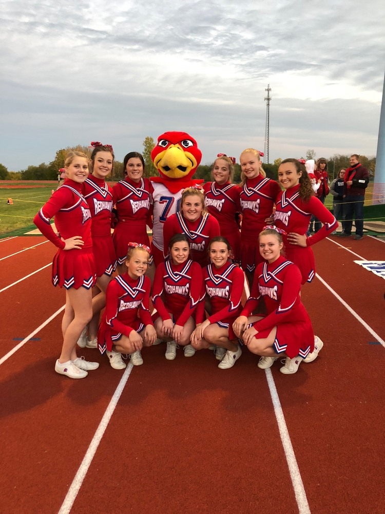Red Hawk cheer captain to perform at Citrus Bowl pregame show