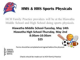 HMS&HHS Sports Physicals
