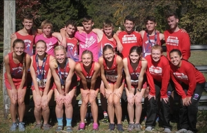 HHS cross country family pulls through to place at state