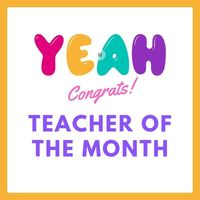 USD 415 Teacher of the Month