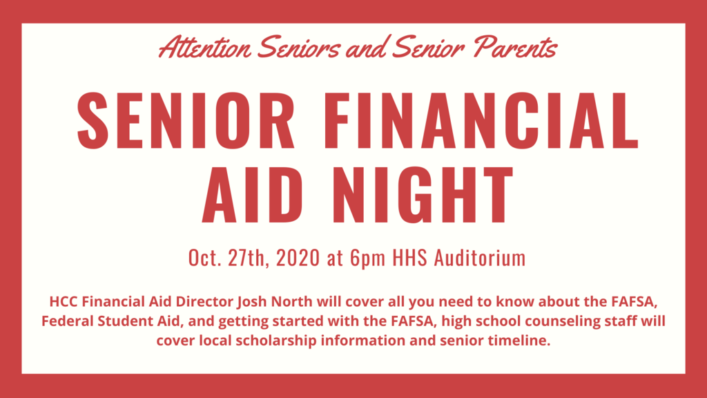 Senior Financial Aid