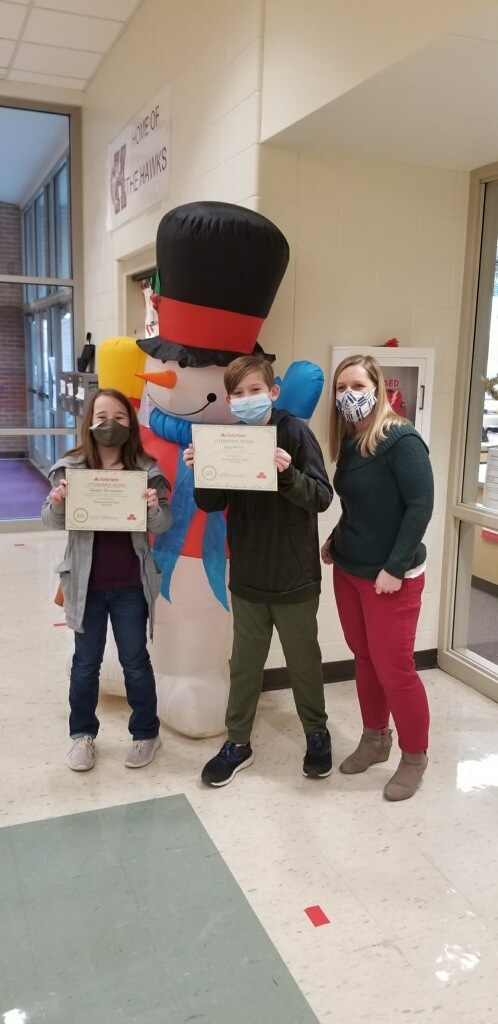 5th & 6th Grader winners