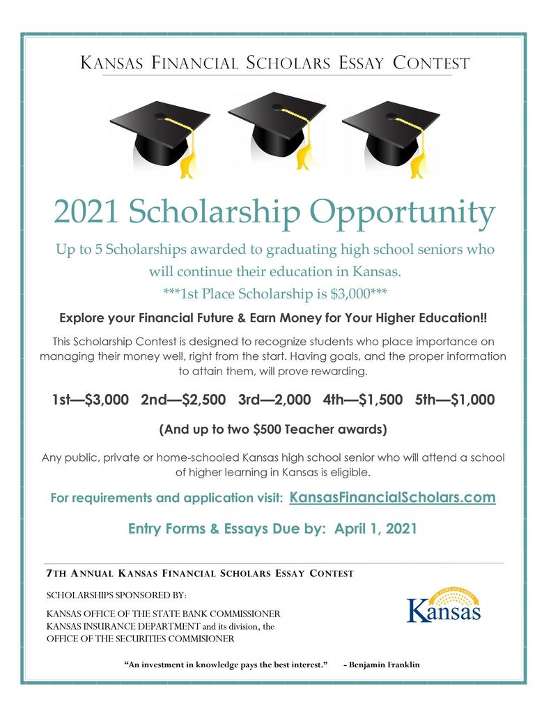 KS Financial Scholars Scholarship