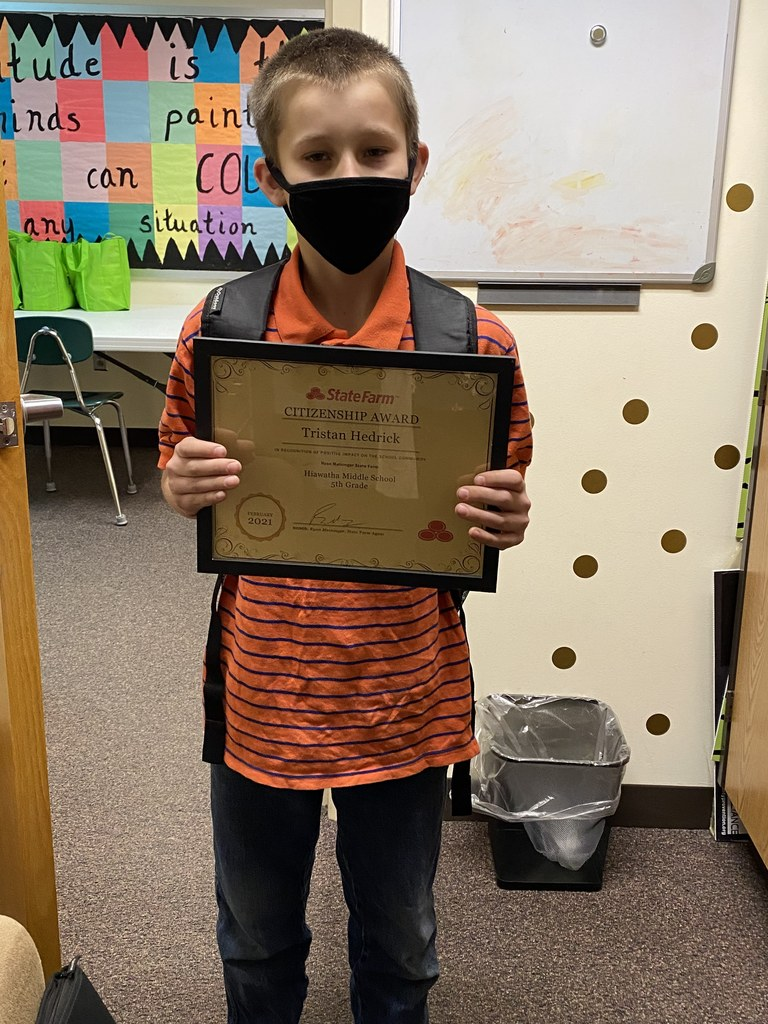 February Kindness award