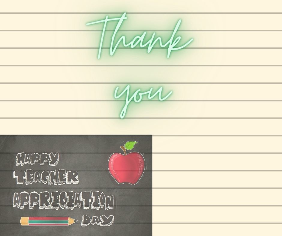 Teacher Thank You