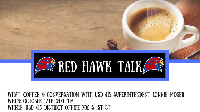 RED HAWK TALK Invitation
