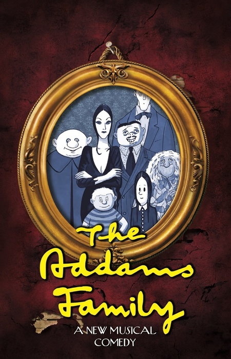 The Addams Family Musical Flyer