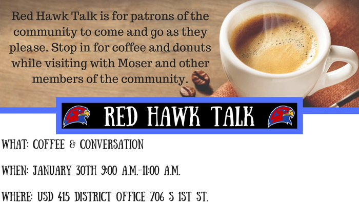 January Red Hawk Talk