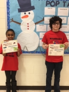 January Remarkable Redhawk Students