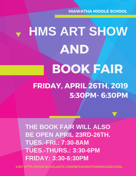 MS Bookfair Flyer