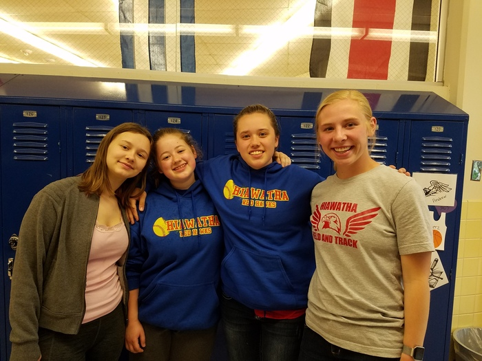 Lillian Childs, Jenna Madere, Robin Madere, and Kate Madsen