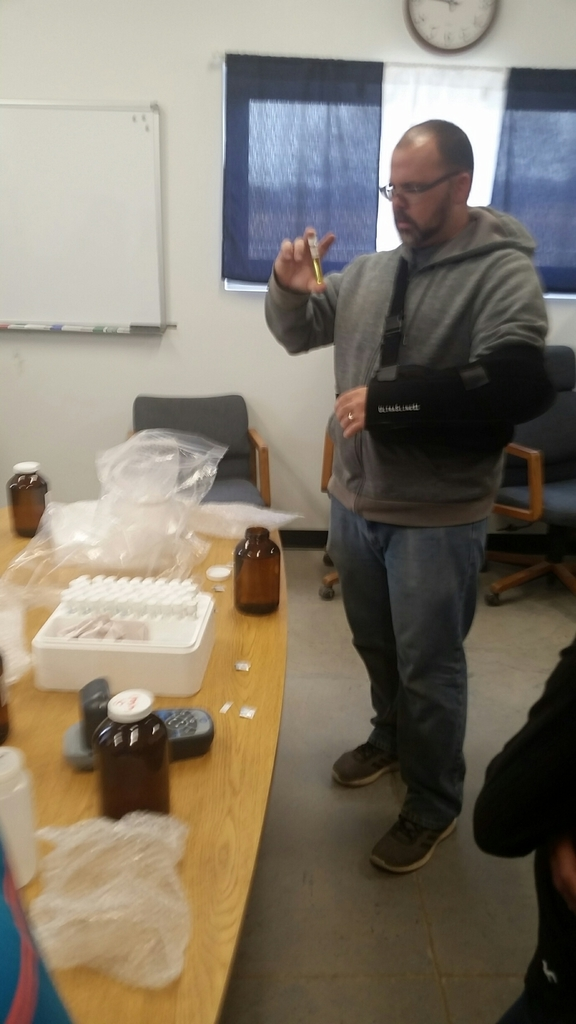 water testing our samples