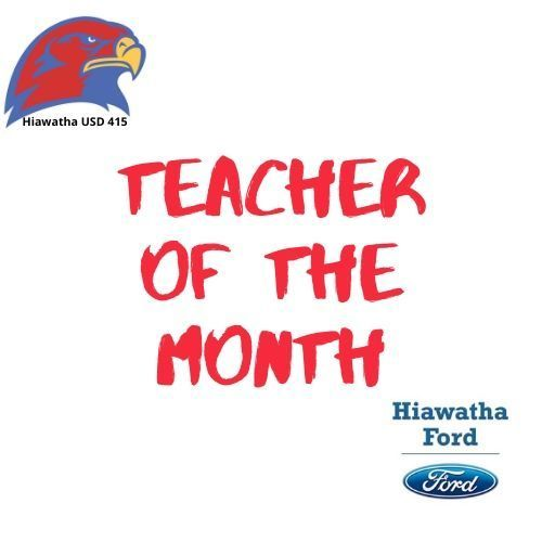 Teacher of the Month Logo