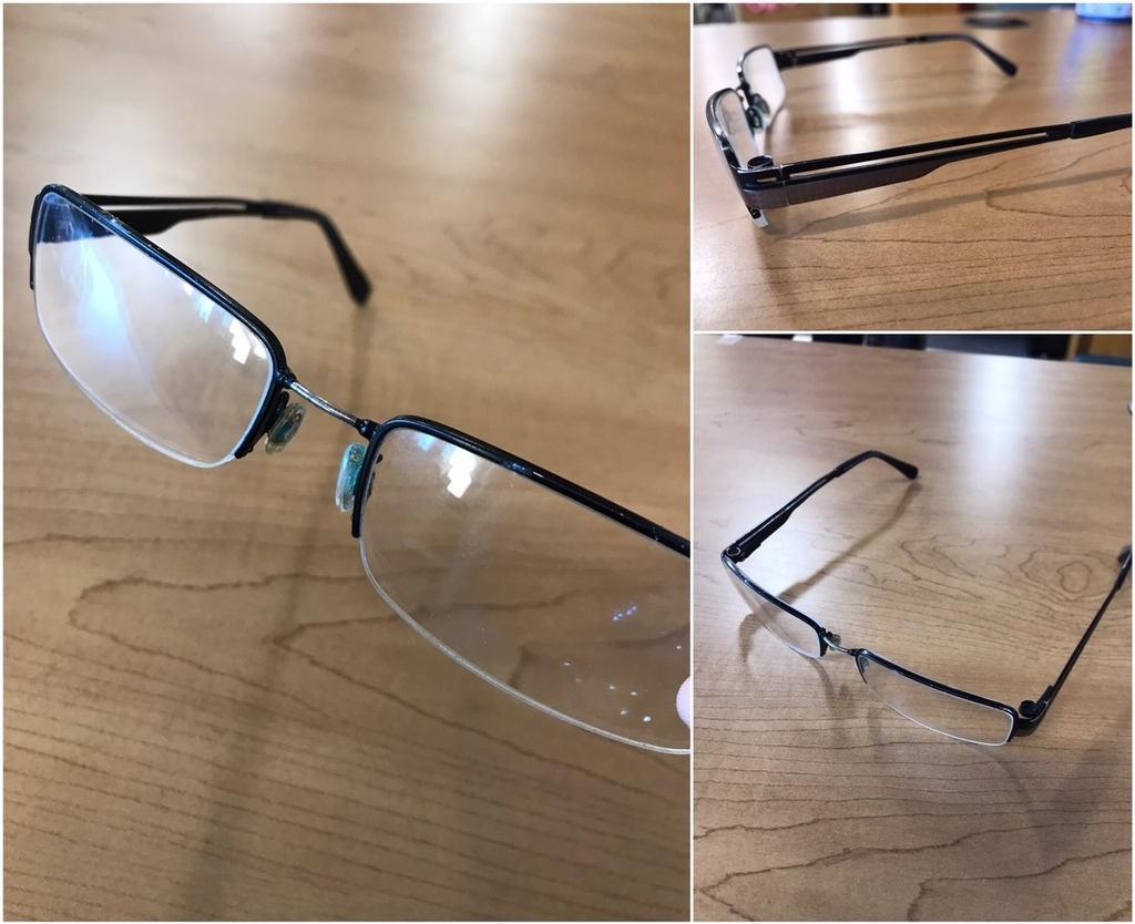 Found glasses
