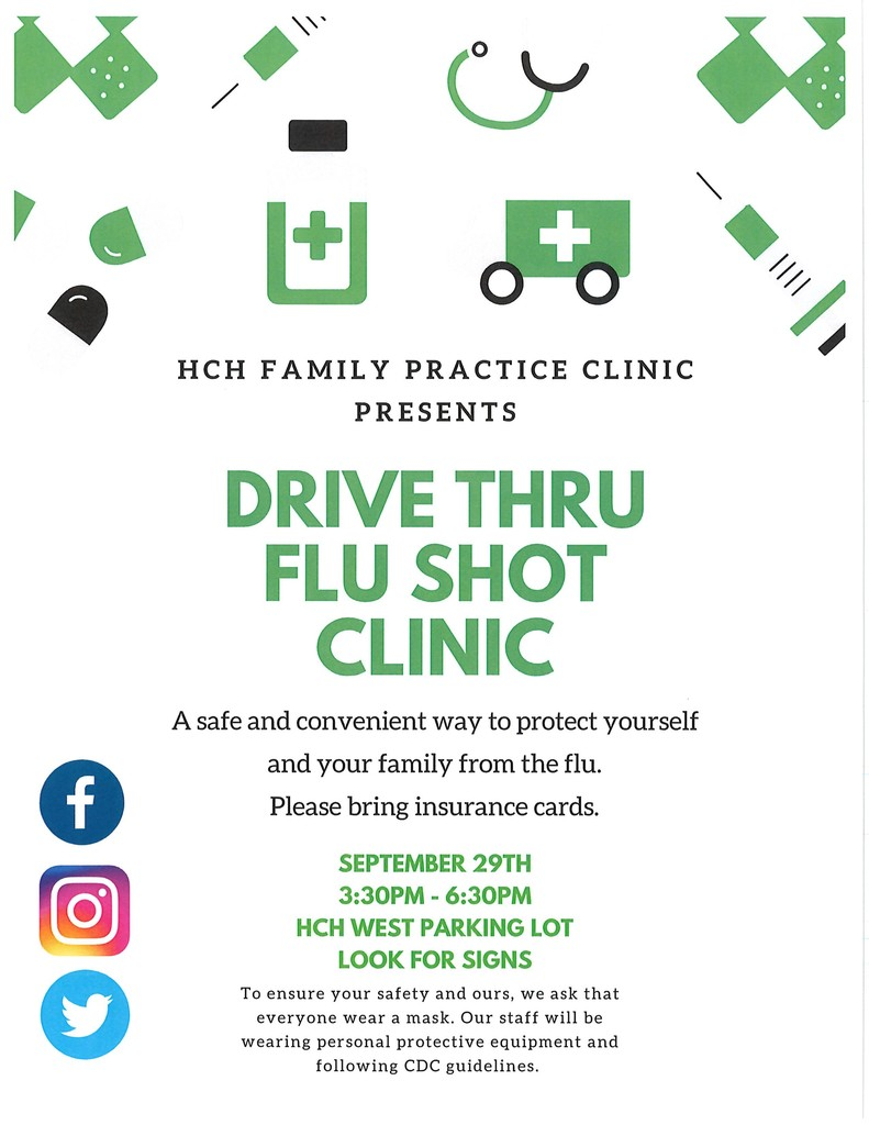 Revised Flu Shot Clinic